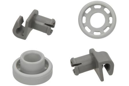 Korbrollen Geschirrspüler für u.a. Bosch, Siemens Oberkorb 2 Stück 424717, 00424717