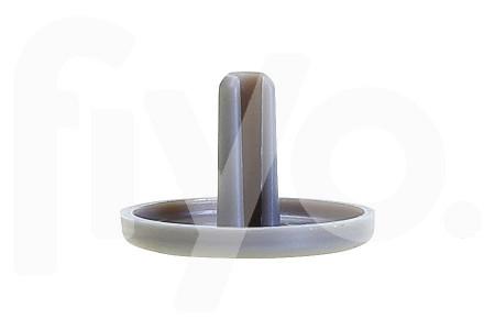 Liebherr Abdeckstopfen des Schraubenlochs in Tür grau Kühlschrank / Gefrierschrank 7421602