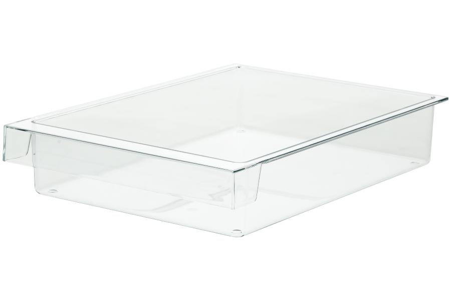 schale schublade 300x212x56mm f r k hlschrank 654584. Black Bedroom Furniture Sets. Home Design Ideas